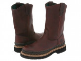 Georgia Boot Georgia Giant Wellington (Brown) Men's Work Pull-on Boots