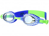 Bling2o Fish-N-Chips Swim Goggles (Little Kids/Big Kids) (Hammerhead Blue) Water Goggles