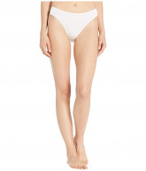Slick Chicks Adaptive High Cut Brief Panty (White) Women's Underwear