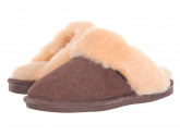 Old Friend Ladies Scuff (Chocolate) Women's Shoes