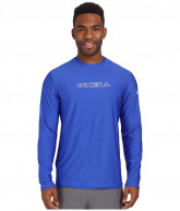O'Neill Basic Skins L/S Rash Tee (Pacific) Men's Swimwear