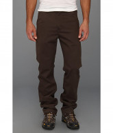 Carhartt Washed Twill Dungaree (Dark Coffee) Men's Jeans