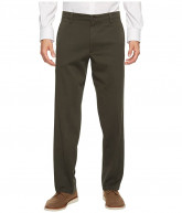 Dockers Easy Khaki D2 Straight Fit Trousers (Olive Grove) Men's Clothing