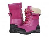 UGG Kids Butte II CWR (Toddler/Little Kid/Big Kid) (Fuchsia) Girl's Shoes