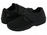 Propet Olivia Medicare/HCPCS Code = A5500 Diabetic Shoe (Black) Women's Hook and Loop Shoes