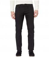 The Unbranded Brand Skinny in 11 oz Solid Black Stretch Selvedge (11 oz Black Stretch Selvedge) Men's Jeans